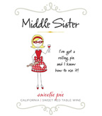 Middle Sister Sweetie Pie Sweet Red Table Wine - NEW