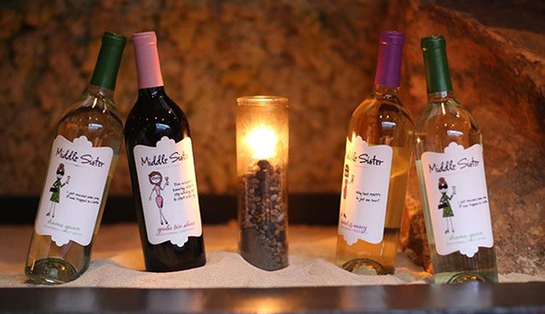 Middle Sister Wines by Candlelite