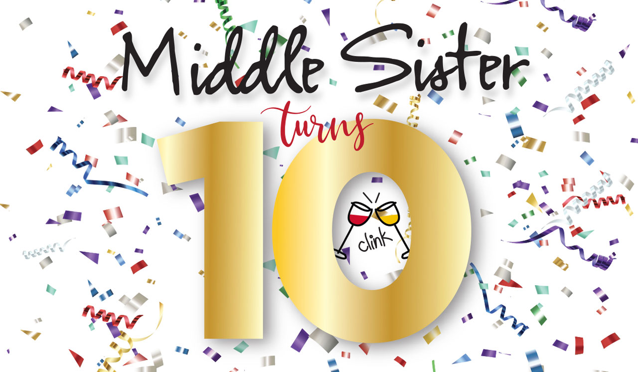 Middle Sister Turns 10